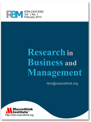 Research in Business and Management
