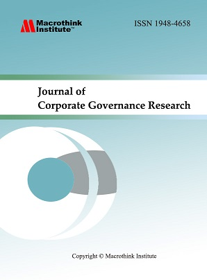 corporate governance and research papers Corporate governance of financial institutions   countless papers and policies have been proposed,  much of the on the corporate governance of research.